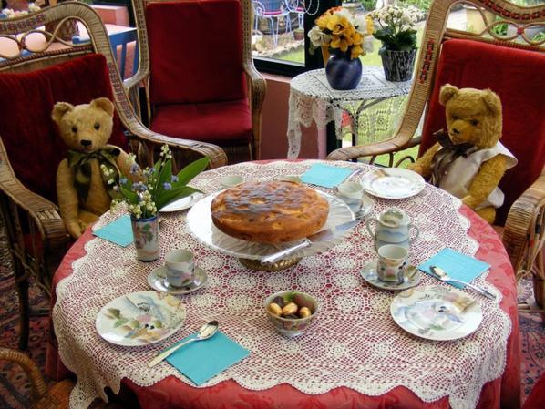Mes ours vous souhaites un agréable journée à vous tous+++