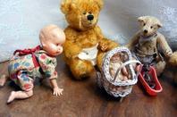 mes petits ours s'occupent de la nursery+++++