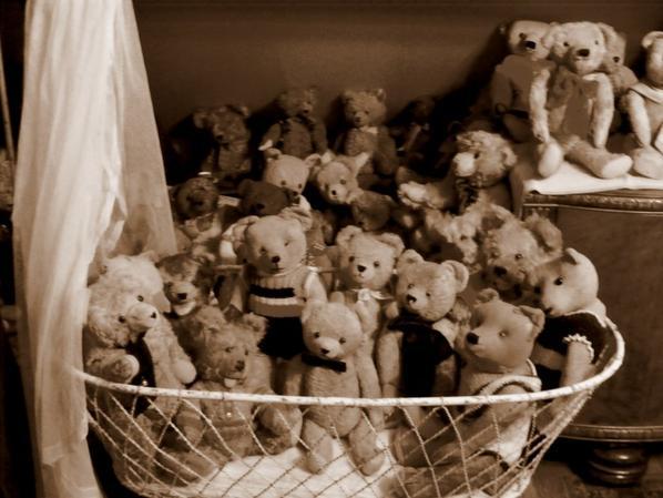 Mes ours vous envoi un petit coucou++++