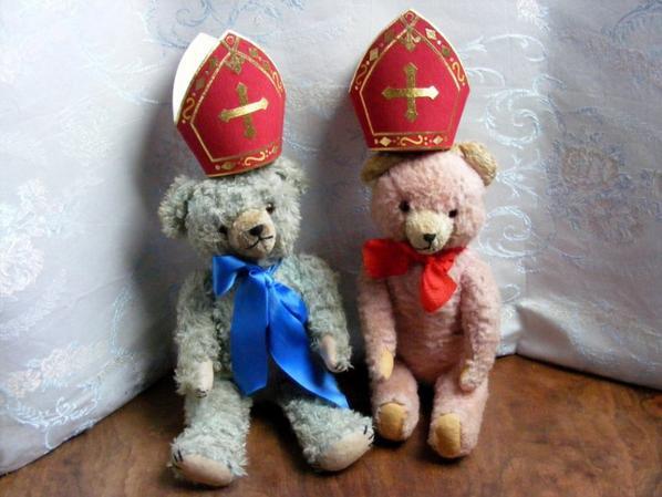 C'est bientôt ST Nicolas ,je vous montre mes petits ours en couleur+++