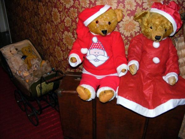 Nous sommes prêts pour Noel et bien au chaud ++++