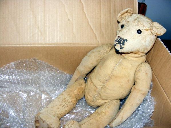 Je vous montre mon ours Samson arrivé samedi 2 juin +++