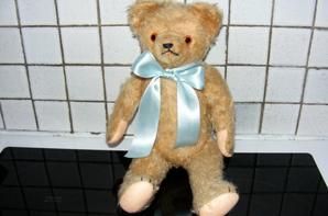 Voici mon petit ours Urbain à son arrivé,maintenant guéri de ces problème et en bonne santé+++