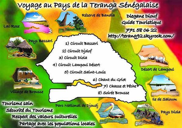 Voyage au Pays de la téranga Sénégalaise ;