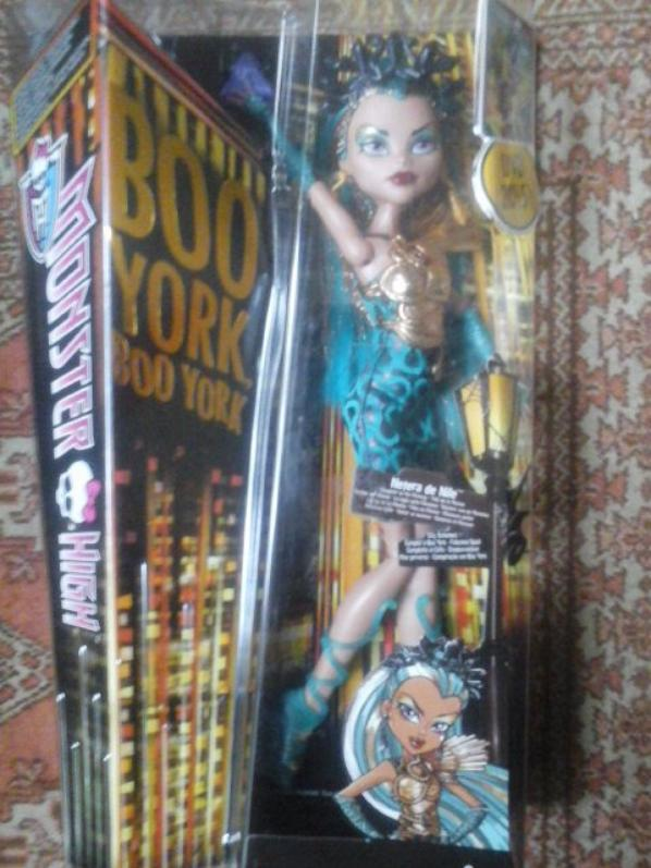Nouvelle Monster High : Nefera de Nile - Boo York Boo York
