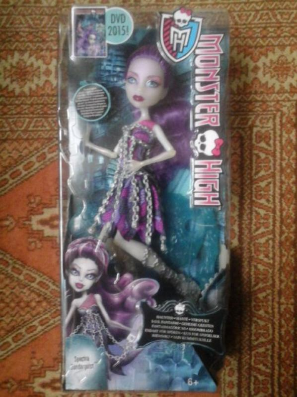 Nouvelle Monster High : Spectra Vondergeist - Haunted