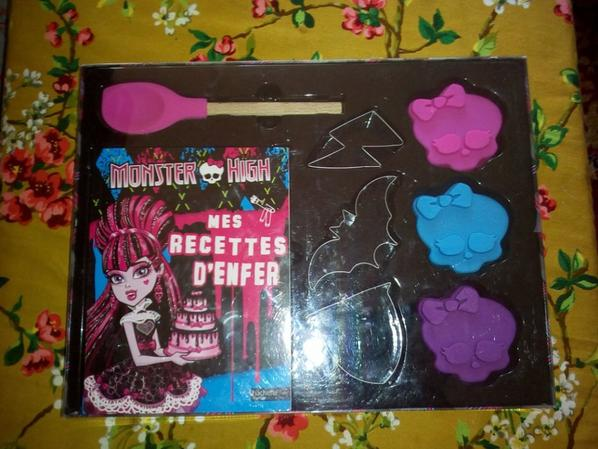 Mon coffret cuisine d'enfer Monster High