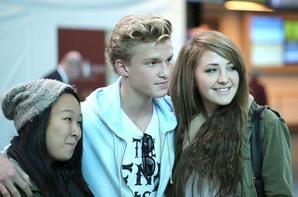 Cody est arrivé a Vancouver + Nouvelle coupe de cheveux .