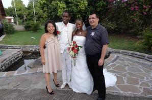 """Mariage de Laura et """"Nanou"""" à Vieux Habitants, Guadeloupe"""