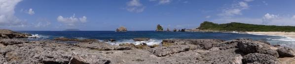 Pointe des chateaux, Guadeloupe