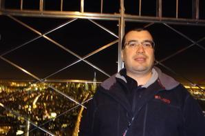 Empire State Building vue sur Manhattan de nuit