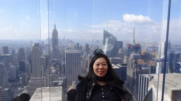 Top of the rock, Rockefeller center