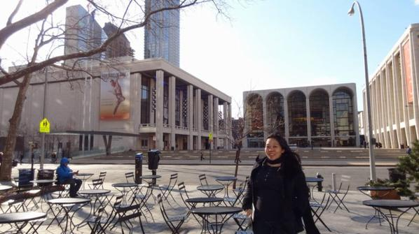New York City Ballet - Lincoln Center - Black Swan filming location