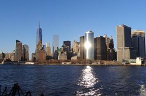 couché de soleil sur Manhattan