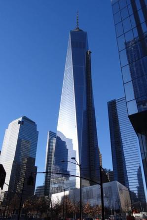 One World Trade Center et mémorial du World Trace Center