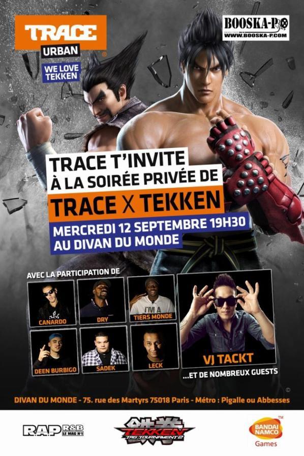 LECK / B-RYS • TRACE X TEKKEN - CONCERT PRIVEE • DIVAN DU MONDE (PARIS)