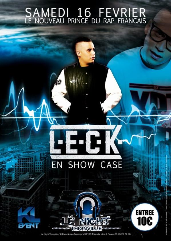 SHOWCASE LECK // THIOVILLE (57) // LE NIGHT #ONSECONNAITAUVILLAGE