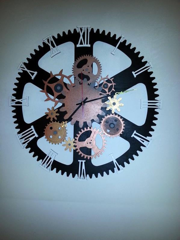 Horloge à mécanisme