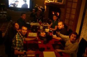 et oui 9 personnes pour 2012 ^^ une soirée on va pas oublier hihi =p