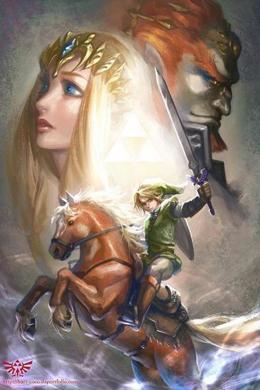 Fanarts #52 - Shikamaru, Ondine et Lara Croft