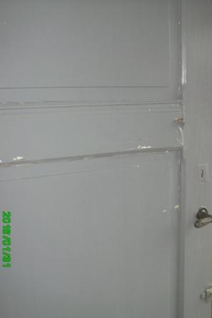 une porte intérieure