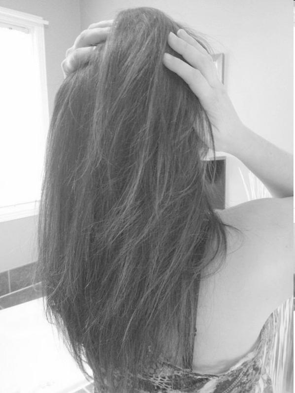 Mom hair! <3