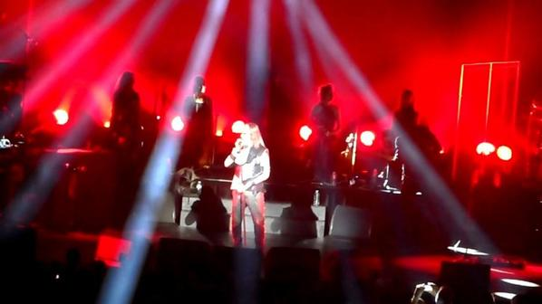 Concert de mon idole florent pagny a Angers en octobre 2014
