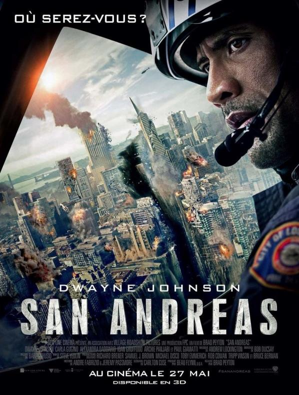 San Andreas Blu-ray 3D Combo Blu-ray 3D + Blu-ray + Copie digitale: Amazon.fr: Dwayne Johnson, Carla Gugino, Alexandra Daddario, Ioan Gruffudd, Archie Panjabi, Paul Giamatti, Hugo Johnstone-Burt, A...