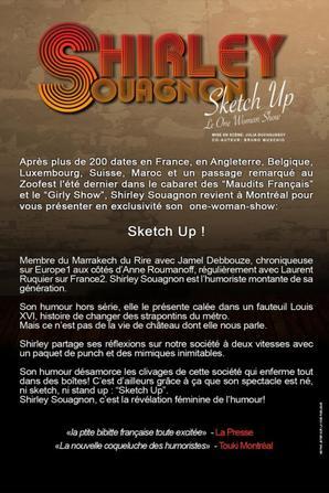 Shirley Souagnon sera à Montréal au Festival JUSTE POUR RIRE : Le ZOOFEST édition 2012 !