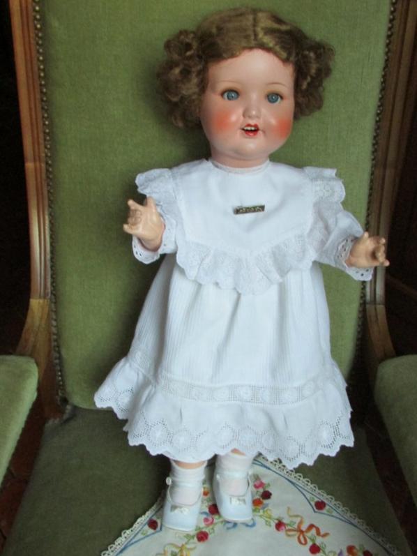 Un coup de coeur, poupée trouvée cette année en brocante