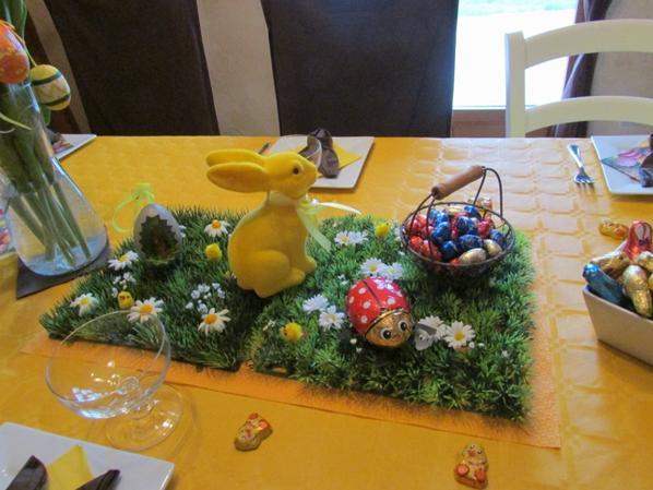 Agréable après-midi de Pâques chez ma fille cadette !