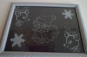 gravure sur le thème de Noël