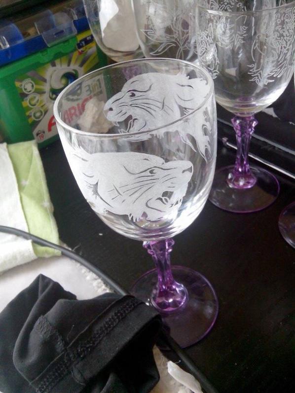 gravure verre à vendre