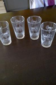commande gravure verre personnalisé pour la fête des pères