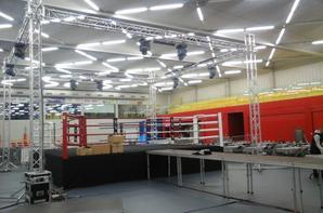 Montage gala de boxe à Farcienne le 22/11/2015