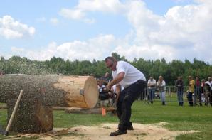 Concours bucherons a Corbenay (70)