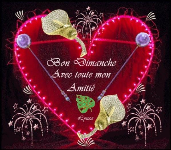 bon dimanche mon amis cyrielle123 gros kiss a toi
