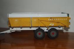 Benne Knapik 2 essieux en cours de réalisation