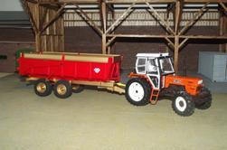 Benne Knapik 2 essieux 15 tonnes terminé