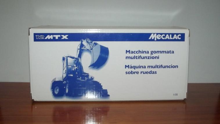 Nouveauté : Mecalac 12 MTX à l'échelle 1/35