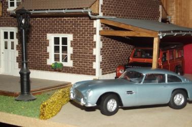 Sortie d'atelier : Kit Airfix Aston Martin DB5