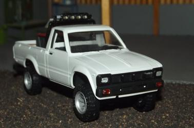 Sortie d'atelier : Pick-up Toyota