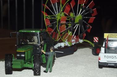 Mes dioramas à l'expo de Chartres le week end dernier.