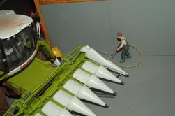 La nouvelle Tucano 570 de retour des Maïs grains