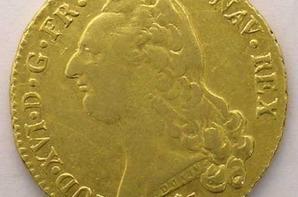double louis d or au buste nue