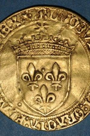 Louis XII          écu d or au soleil