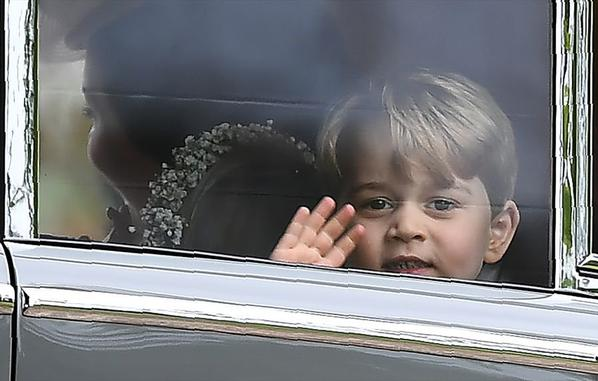 20 MAI 2017 GEORGES ET CHARLOTTE   D 'ANGLETERRE......
