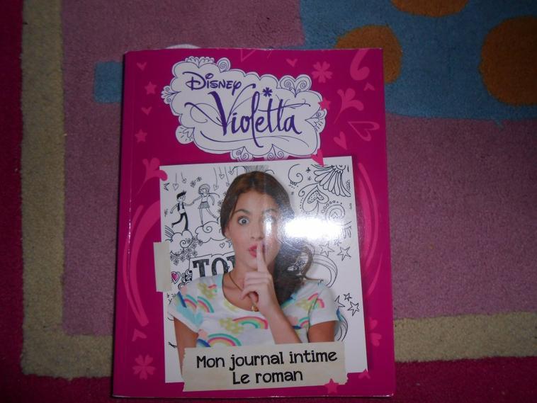 Voila mes articles Violetta :