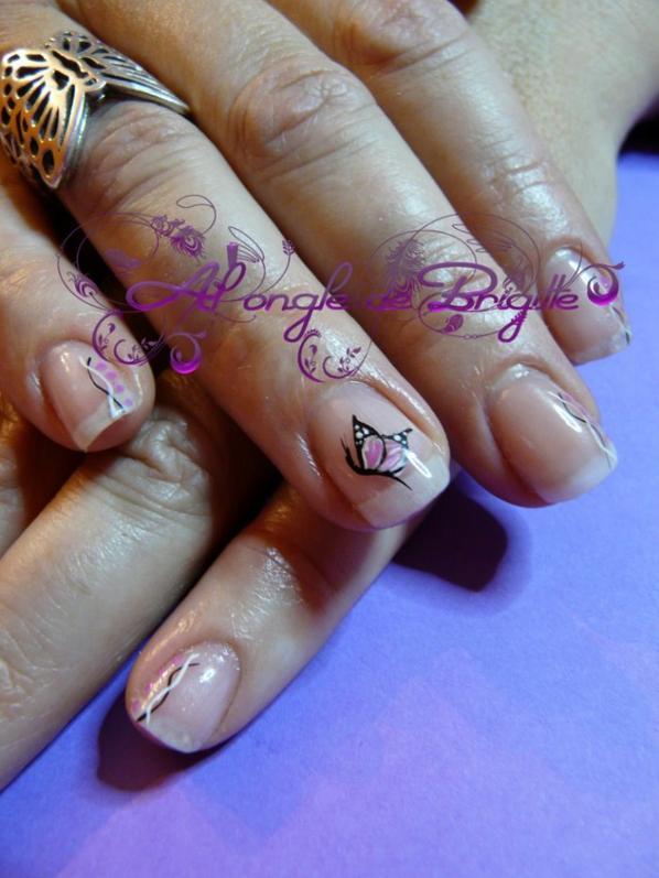 renforcement +nail art