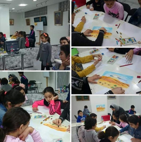 Mon atelier de dessin et de peinture pour les enfants et les femmes